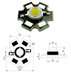 Схема подключения 3w светодиода фото 639